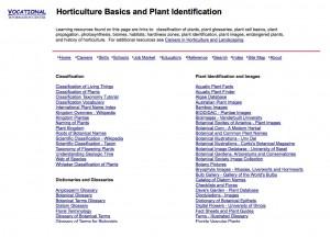 Horticulture Basics