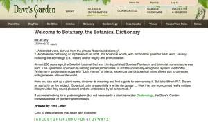 botanary